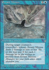 Errant Minion - Ice Age