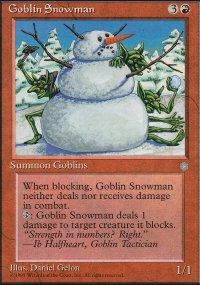 Goblin Snowman - Ice Age