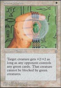 Green Scarab - Ice Age