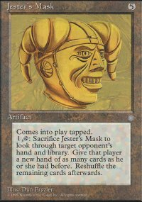 Jester's Mask - Ice Age