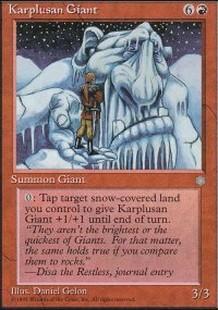 Karplusan Giant - Ice Age