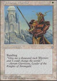 Kjeldoran Warrior - Ice Age