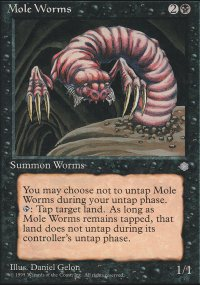 Mole Worms - Ice Age
