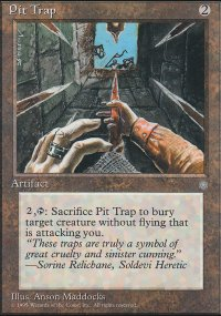 Pit Trap - Ice Age