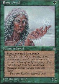 Rime Dryad - Ice Age