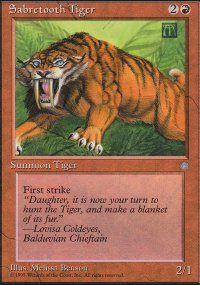 Sabretooth Tiger - Ice Age