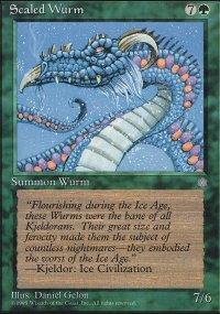 Scaled Wurm - Ice Age