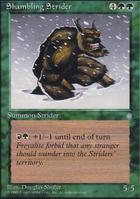 Shambling Strider - Ice Age