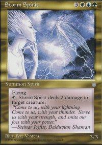 Storm Spirit - Ice Age