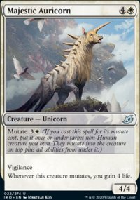 Majestic Auricorn 1 - Ikoria Lair of Behemoths
