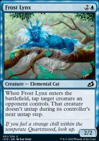 Frost Lynx - Ikoria Lair of Behemoths