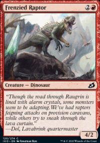 Frenzied Raptor - Ikoria Lair of Behemoths