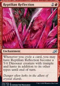 Reptillian Reflection -
