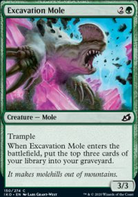 Excavation Mole -