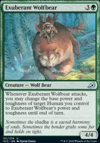 Exuberant Wolfbear - Ikoria Lair of Behemoths