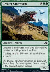 Greater Sandwurm - Ikoria Lair of Behemoths