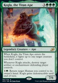 Kogla, the Titan Ape -