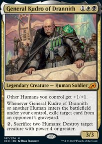 General Kudro of Drannith 1 - Ikoria Lair of Behemoths