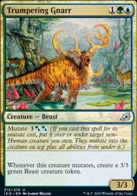 Trumpeting Gnarr 1 - Ikoria Lair of Behemoths