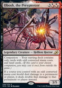 Obosh, the Preypiercer 1 - Ikoria Lair of Behemoths