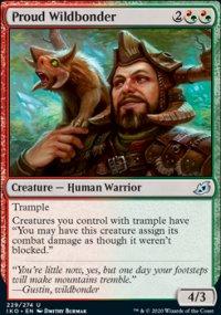 Proud Wildbonder - Ikoria Lair of Behemoths