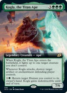 Kogla, the Titan Ape 2 - Ikoria Lair of Behemoths