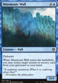 Mnemonic Wall - Iconic Masters
