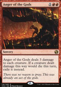 Anger of the Gods - Iconic Masters