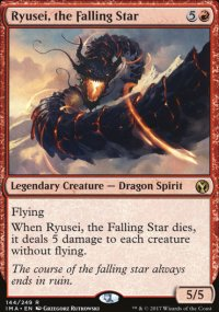 Ryusei, the Falling Star - Iconic Masters
