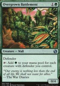 Overgrown Battlement - Iconic Masters