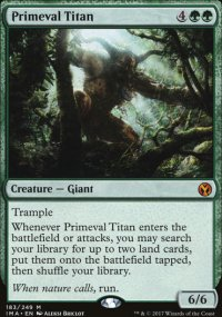 Primeval Titan - Iconic Masters