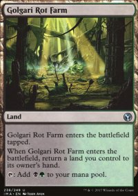 Golgari Rot Farm - Iconic Masters