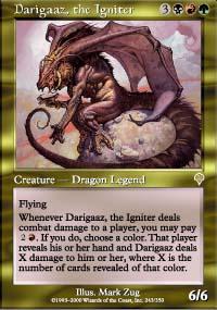 Darigaaz, the Igniter - Invasion