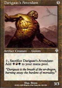 Darigaaz's Attendant - Invasion