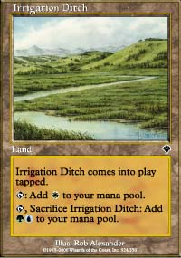 Irrigation Ditch - Invasion