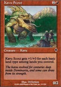 Kavu Scout - Invasion
