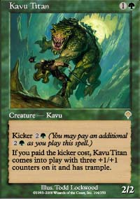 Kavu Titan - Invasion
