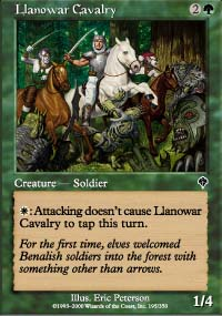 Llanowar Cavalry - Invasion