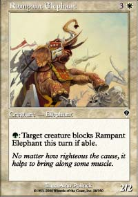 Rampant Elephant - Invasion