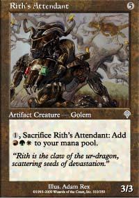 Rith's Attendant - Invasion