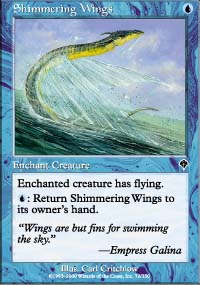 Shimmering Wings - Invasion