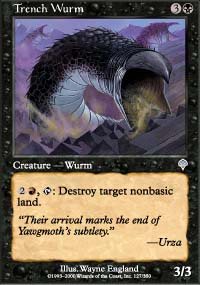 Trench Wurm - Invasion