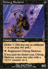 Urborg Skeleton - Invasion