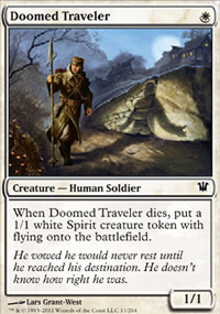 Doomed Traveler - Innistrad