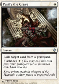 Purify the Grave - Innistrad