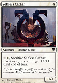 Selfless Cathar - Innistrad