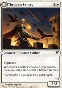 Thraben Sentry - Innistrad