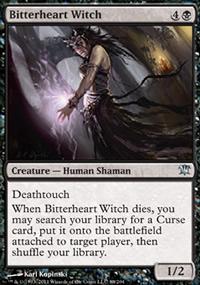 Bitterheart Witch - Innistrad