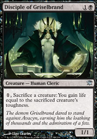 Disciple of Griselbrand - Innistrad