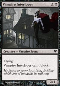 Vampire Interloper - Innistrad